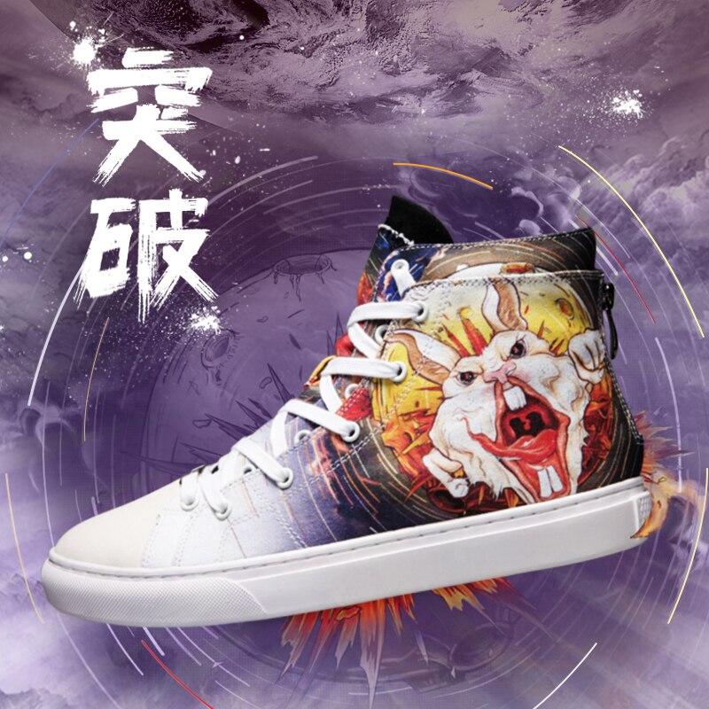 De Tupo Mode Travail D'origine Confortable Chinois Femme Idx Graffiti Chaussures 6EqvdE