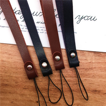 10pcs/lot Leather slim Wrist Straps Hand Lanyard For Phones IPhone X Samsung Camera GoPro USB Flash Drives Keys Phone