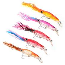 Fishing Lure Lifelike Squid Fish Hard Bait with Hook Skirt Fishing Lures Tackle Accessory(China)
