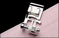 Ограниченная серия, швейная машина, переплетная, сделано в Японии, регулируемая потайная ножка, 820817015-Janome прижимная, высокое качество