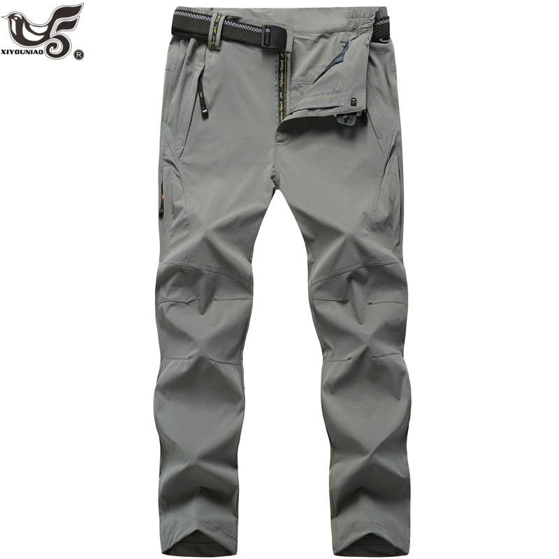 XIYOUNIAO plus size L~6XL 7XL 8XL summer men waterproof quick dry Breathable Wear resistant Joggers Trousers Men's Work Pants