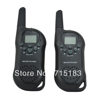 Portable radio phone 22 Channels or 8 Channels Mini Walkie Talkie Pair for kids,toy walkie talkie phone Free Shipping Retail box