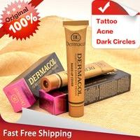 Authentic100 Dermacol Base Make Up Cover 30g Primer Concealer Base Professional Face Dermacol Makeup Foundation Contour
