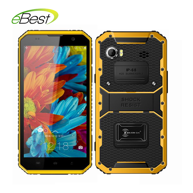 New Kenxinda Proofing W9 IP68 Waterproof smartphone 4000mAh 2GB RAM 16GB ROM 6.0 inch Andriod 5.1 MTK6753 Octa Core