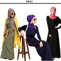 2016 New Arrival Muçulmano Islâmico vestido longo para As Mulheres Malásia Turco abayas em Dubai senhoras roupas de alta qualidade vestido longo