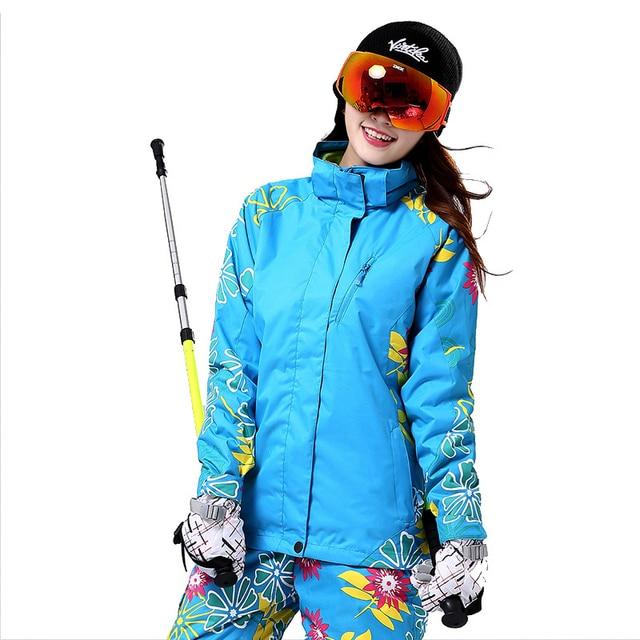 Ski Jacket Women Skiing Suit Winter Waterproof Cheap Ski Suit Outdoor Camping Female Coat Snowboard Clothing parkas