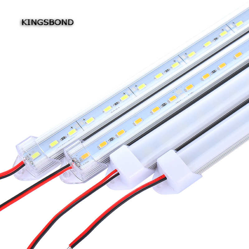 5pcs*50cm DC12V 50CM  50CM 5630 LED Hard Rigid LED Strip Bar Light  white warm white for indoor lighting