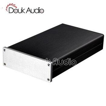 Douk Audio Aluminum Chassis Amplifier Case DIY Enclosure Pre-Amp Box