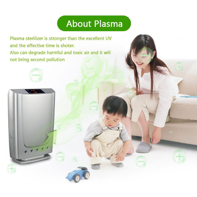 Plasma Air Purifier For Home and Office Air Purification With Big Power With Ionizer Anion And Ozone Purifier Dropshipping