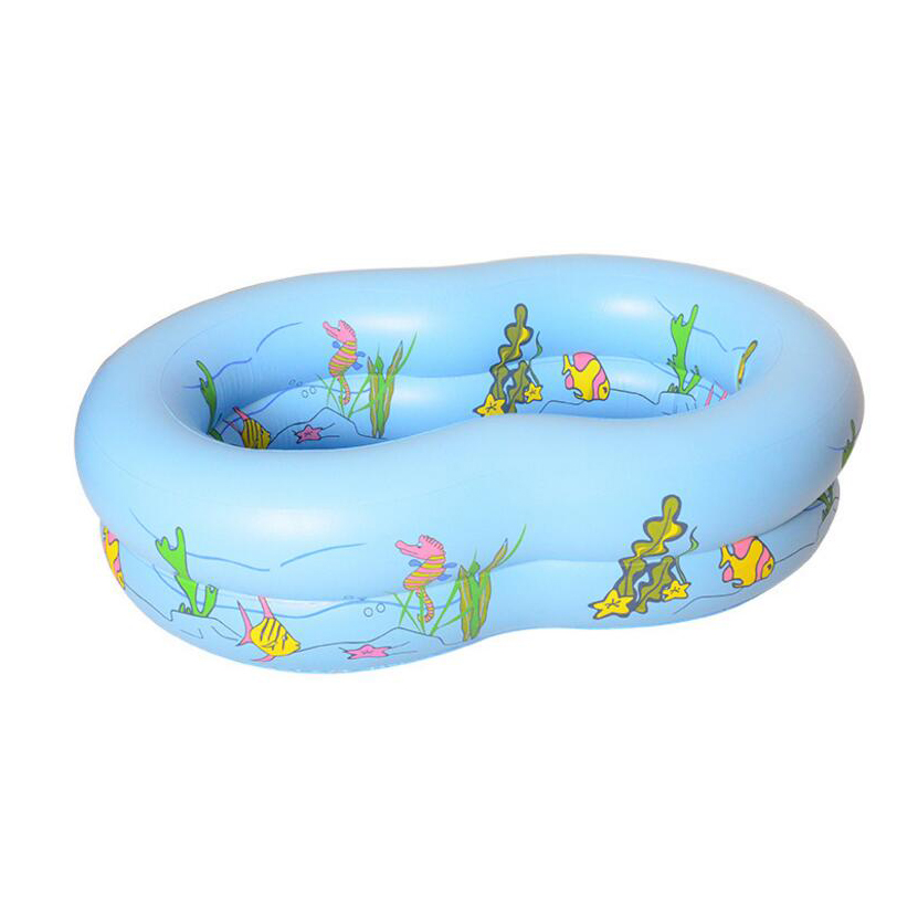 ФОТО inflatable swimming pool thicken cartoon baby swimming pool for children todller super large wading pools newborn swim trainer