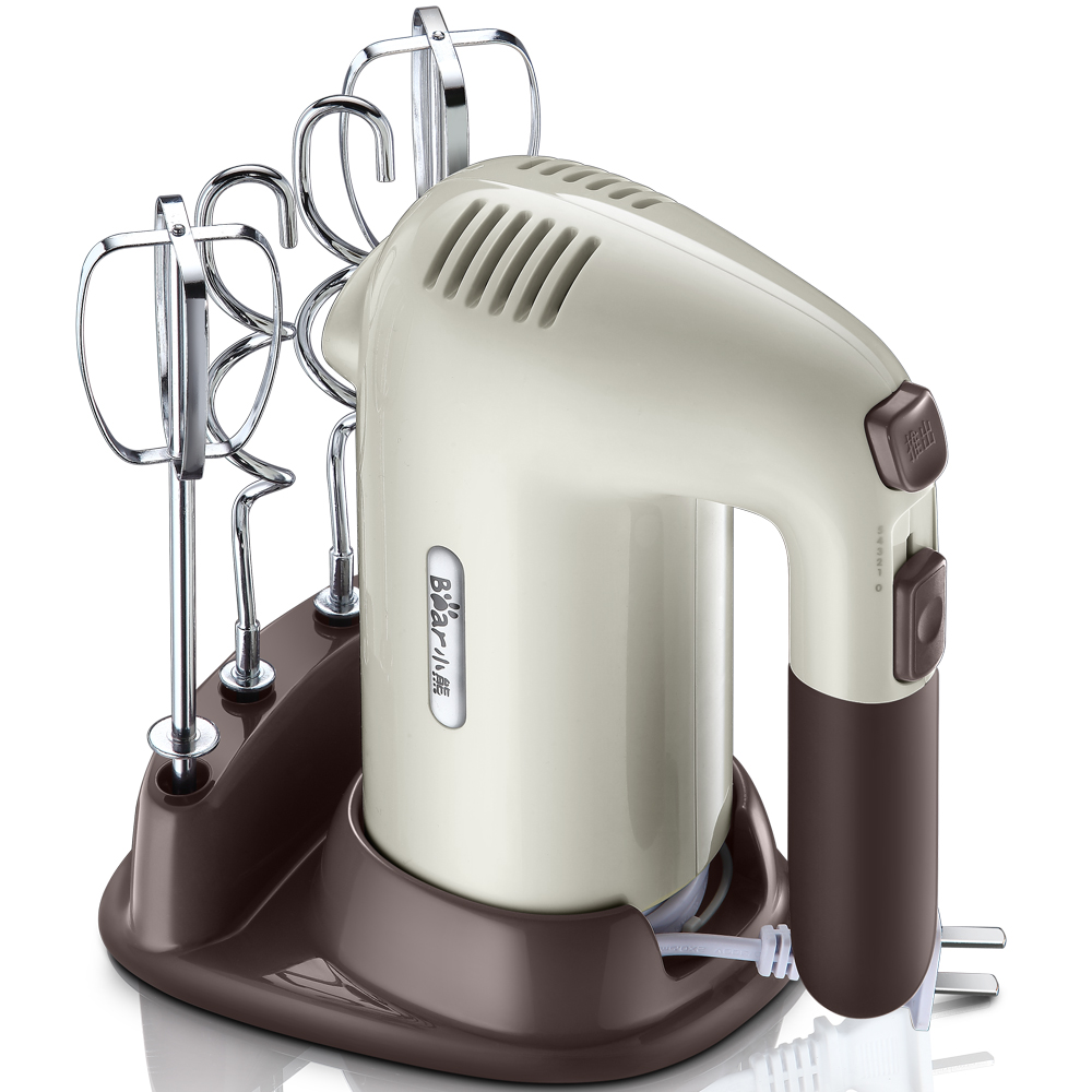 Electric Household 200W High Power Handheld Egg Beater Cream Flour Stirring Mixer Butter Machine New 5 Files Pure Copper Motor