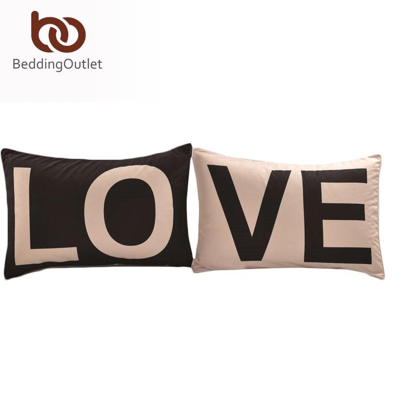 BeddingOutlet Promotion Love Together Funda de almohada Regalos de - Textiles para el hogar
