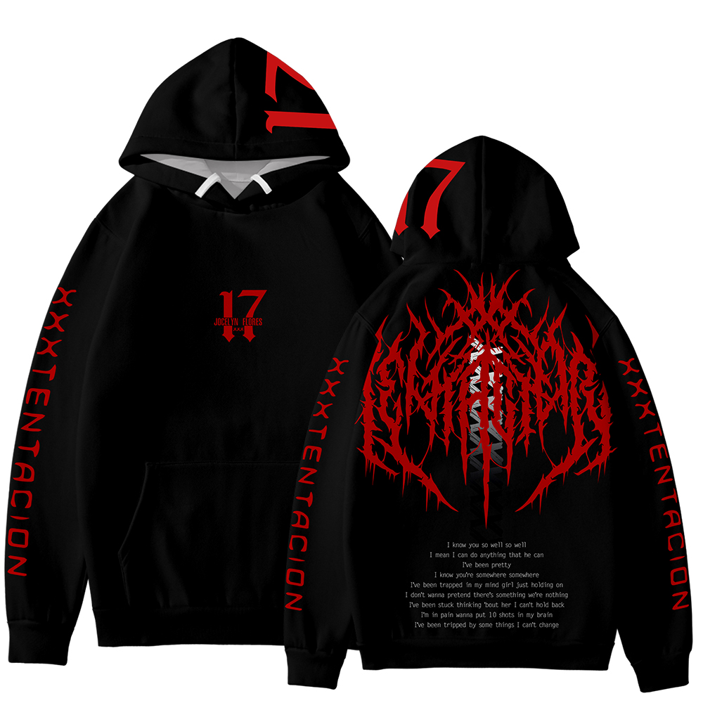 2019 New Arrival XXXTENTACION 3D Hoodies Men/Women Autumn Fashion Handsome Sweatshirt 3D Print XXXTENTACION Men's Hoodie