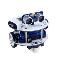 Qbot Smart Robot Car Kit Programmable With Remote Control Ltrasonic Light Line Tracking Sensor OLED Bluetooth