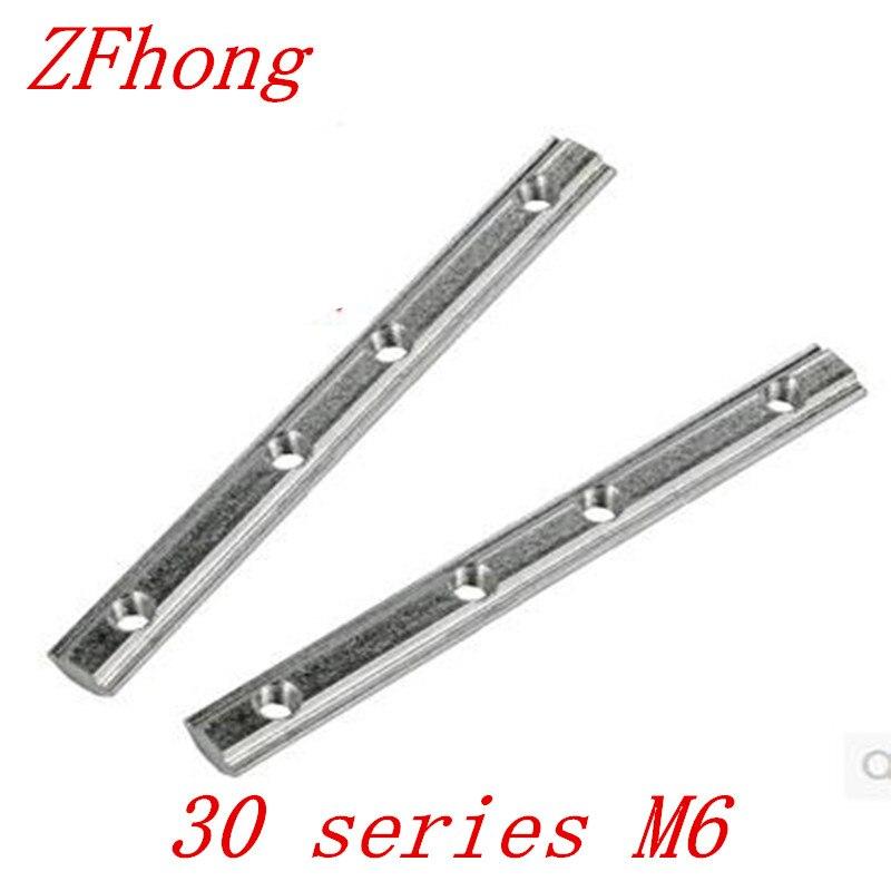4pcs Straight Line Connector Joint Aluminum Profile 30