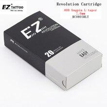 Rc0805rlt 20 шт./кор. EZ революция Иглы для татуажа картридж круглый вкладыши стерилизовать для картридж машины и ручки