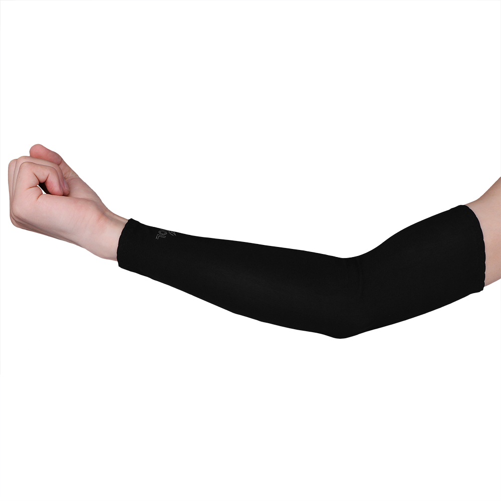 1pcs Breathable Quick Dry Uv Protection Running Arm Sleeves Basketball Elbow Pad Fitness Armguards Sports Cycling Arm Warmers Men's Arm Warmers Men's Accessories