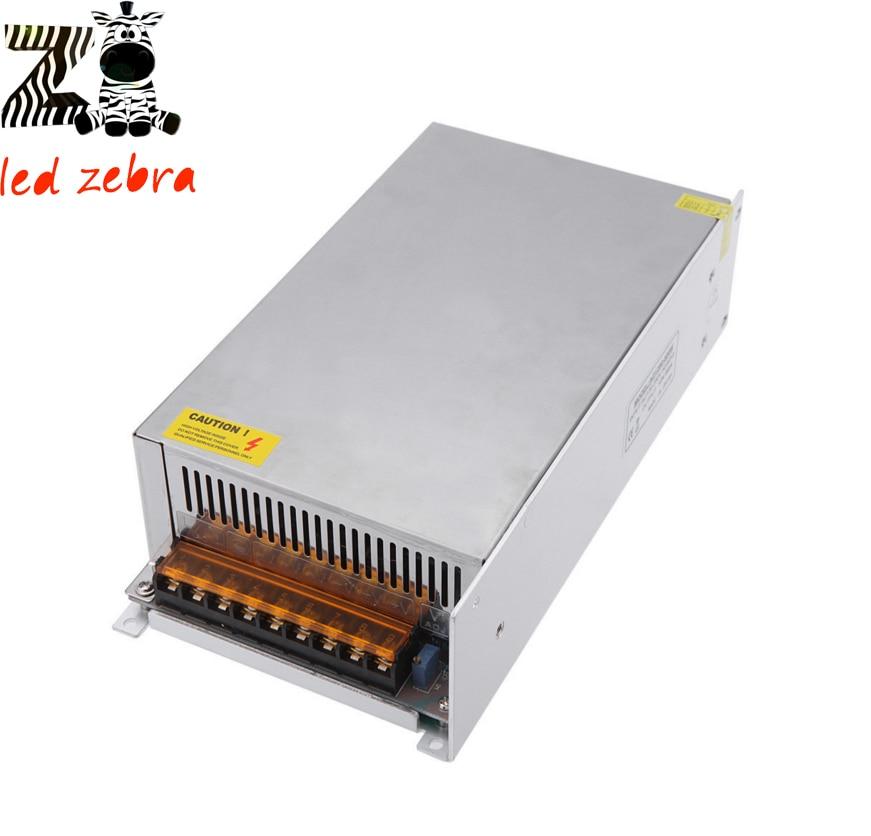 DC12V 50A 600W Led Strip Power Supply Driver AC110 240V Led Switch Power Supply Transformer For