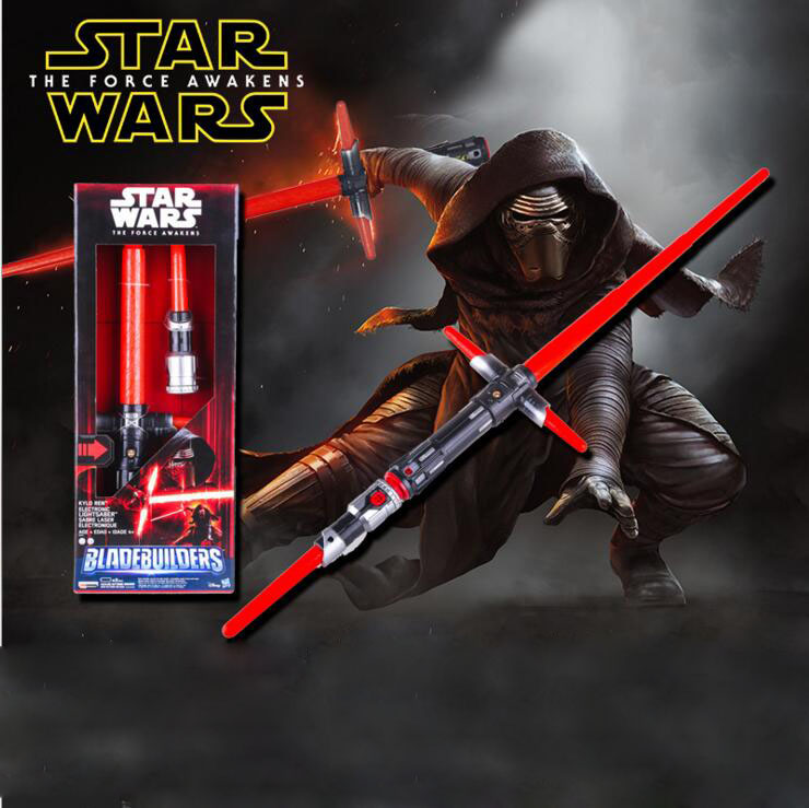 Star Wars Laser Sabre Laser Armes Son Bâton Led Cosplay Jouet Starwars Dirige Kylo Ren Luke Skywalker Darth Maul Light Saber Épée jouet