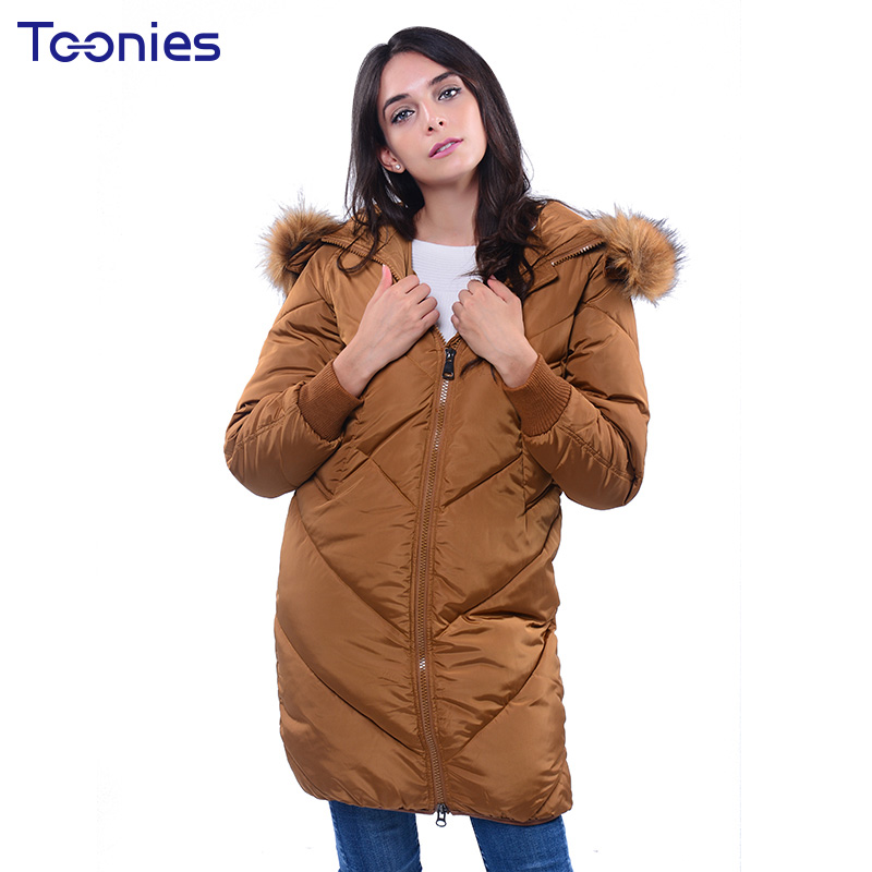 Wide-waist Loose Women Cotton Parka Jacket Plus Size Black Hooded Long Coat Solid Thickening Winter Coats Femme Casual Outwear