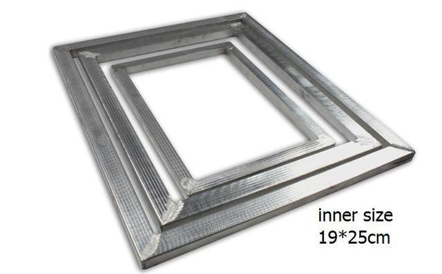 1pc 19*25cm Aluminum Frame Aluminum Alloy Screen Frame for screen ...