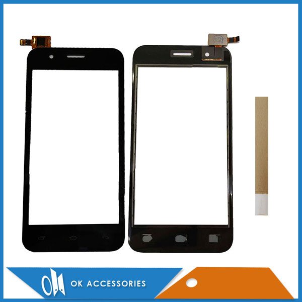 4.5 Inch For Micromax Bolt Q346 Touch Screen Digitizer Panel Replacement Front Glass Touchscreen With Tape