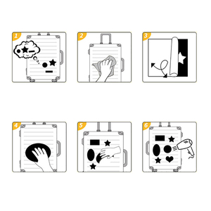 Image 5 - Sliverysea 100 Cái Ngẫu Nhiên Không Lặp Lại Hỗn Hợp Dán Doodling Du Lịch DIY Dán Xe Ô Tô Xe Máy Hành Lý Laptop Xe Đạp Xe Tay Ga