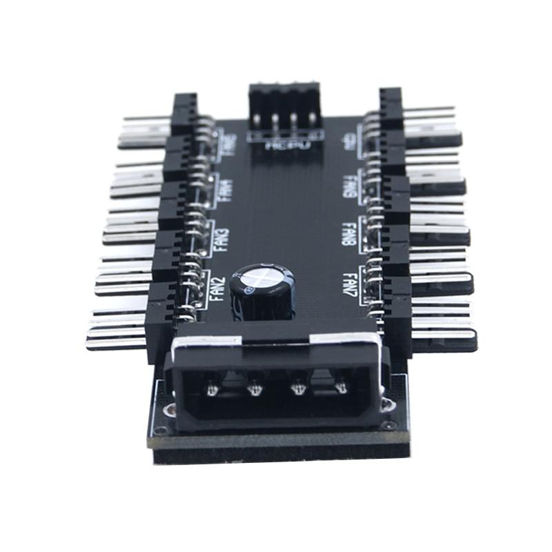 10 vrat PWM 4pin CPU hladilnik / ohišje / podvozje Hladilni - Računalniški kabli in priključki - Fotografija 4
