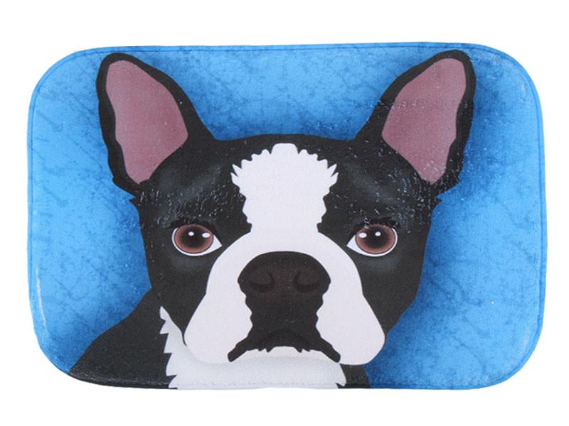 Animals Mat Dog Printing Carpet Suede Non Slip Absorbent Shower Bathroom Mat For Toilet  Rugs Kitchen Floor Mat alfombras tapis
