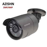 H 265 IP Camera 2MP F22 4MP OV4689 25FPS DC12V 48V PoE ONVIF Motion Detection IP66