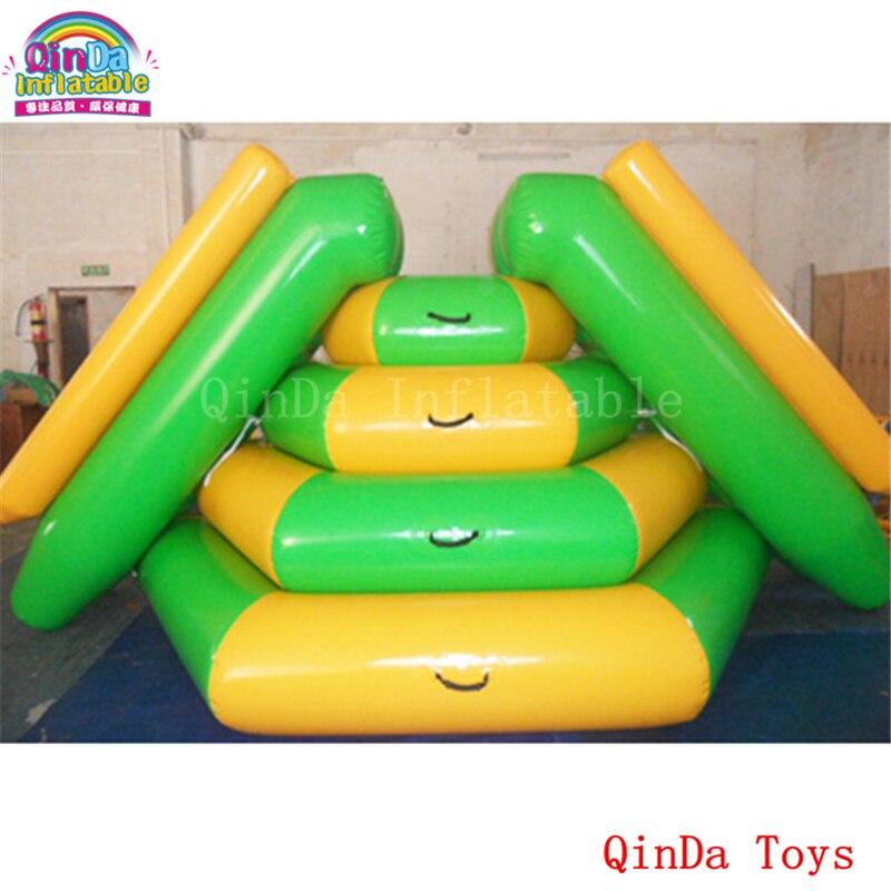 China supplier factory price floating water tower slide, 2 lanes inflatable climbing water slide for sale варочная панель электрическая whirlpool akt 8090 ne черный