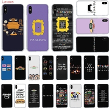 Lavaza Central Perk Coffee friends tv Hard Phone Case for Apple iPhone 6 6s 7 8 Plus X 5 5S SE XS Max XR Cover