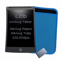 Newyes 8 5 Black LCD Writing Tablets Notepad Electronic Drawing Board Toys With Sleeve Case And