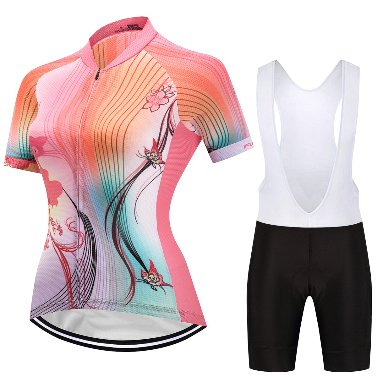 Breathable Women Cycling Jersey Cycling Clothing/Mountain Bicycle Jerseys/Racing Ropa Ciclismo Bike GEL Pad Maillot Ciclismo