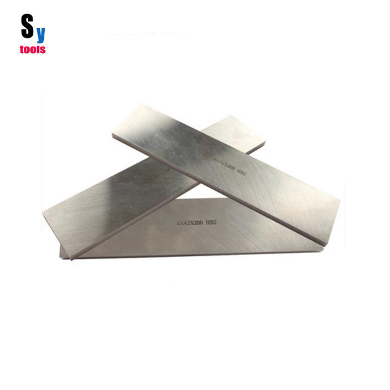 Sy tools DIY knife Blade production High speed steel knife blank Cotyledons produce 300mm-5mm/6mm thickness(heat treated)