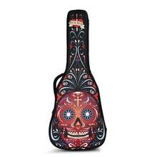 """שקית גיטרה אקוסטית אקוסטית 40 אינץ '41 שקית גיטרה קלאסית 38 """"39 אינץ' כתף כפולה לנשום"""
