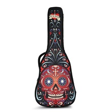 "Waterproof Oxford kain kaum asli akustik gitar beg 40 inci 41 inci beg gitar klasik 38 ""39 inci bahu double bernafas"