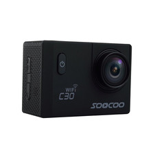 SOOCOO C30 Wifi Ultra HD 2K 2.0 Screen 170/120/90 Angle Adjustable Waterproof Outdoor Sports Action Camera
