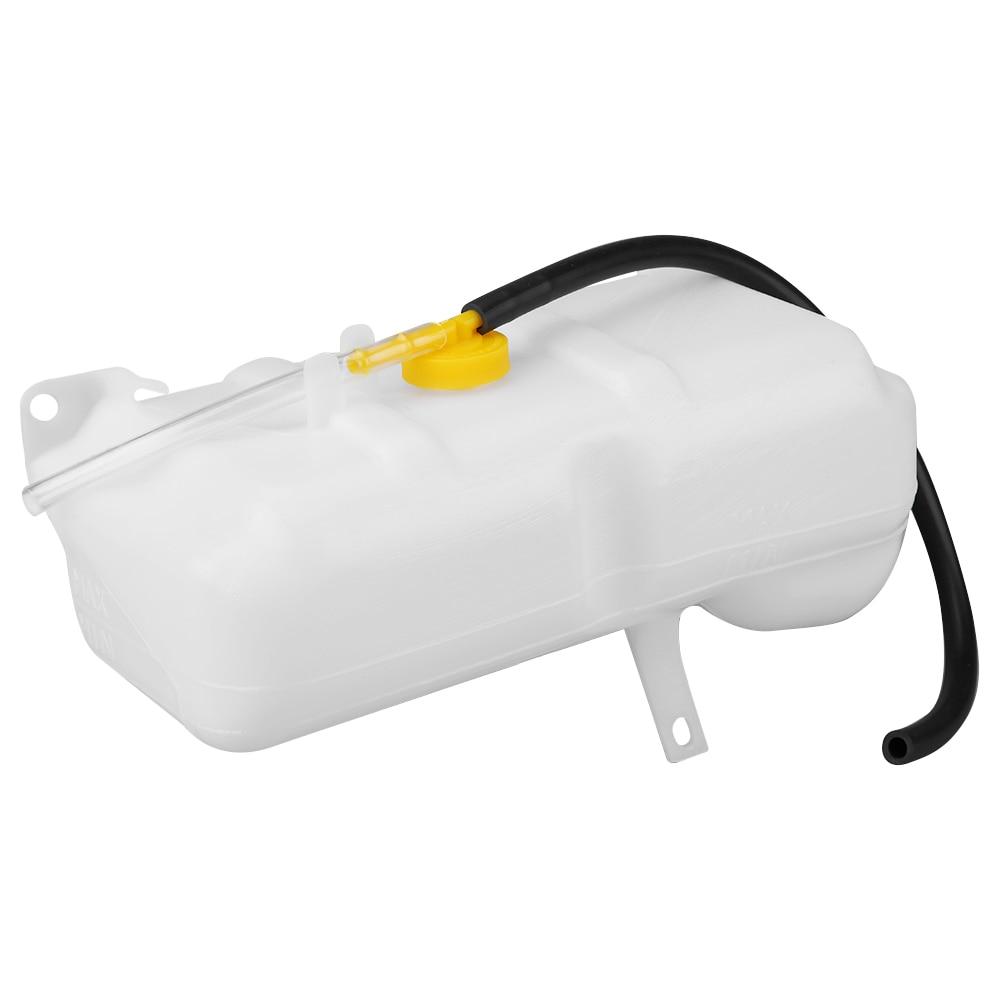 Auto Kühlmittel Überlauf Flasche 2-Pin Dual Rohr Tank Für Nissan Patrol GQ88-97 Für Ford Maverick 88-94 17931-NI020DO Überlauf Flasche