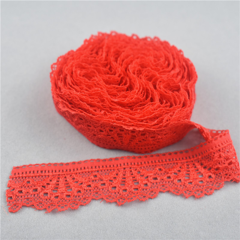 Beautiful elastic lace 10-100 yards a variety of colors Free Shipping