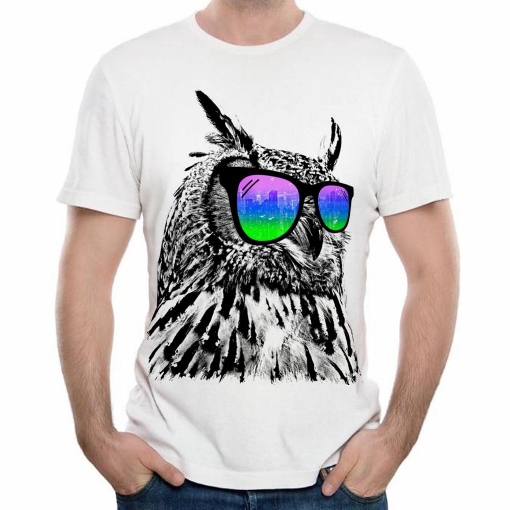 Zebra shirt design - Xqxon Summer Cool Owl Tee Tops Gangster Cat Cool Zebra Dj Cat Cute Dog Design