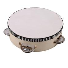 Детский мини-барабан для детей раннего образования, музыкальный инструмент, детская игрушка, ударный инструмент, ручной барабан, игрушка
