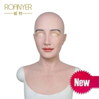 Mia Roanyer crossdresser silicone female artificial skin for men cosplay women latex shemale transgender drag queen male to fem