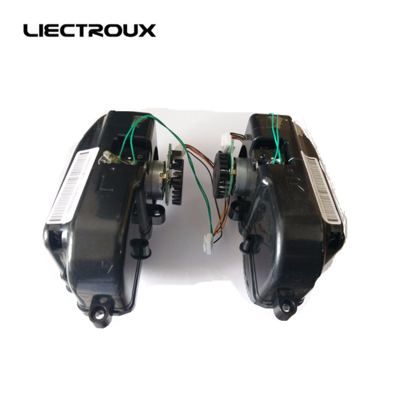 (For B6009) LIECTROUX robot vacuum cleaner B6009 Left & Right Wheel Assembly with Motor, Left Wheel 1pc, Right Wheel 1pc