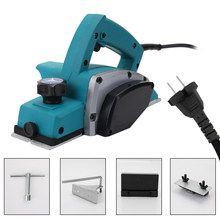 Multifungsi Electric Planer Kuat Kayu Handheld Carpenter Woodworking File Alat Rumah DIY Alat Kit(China)