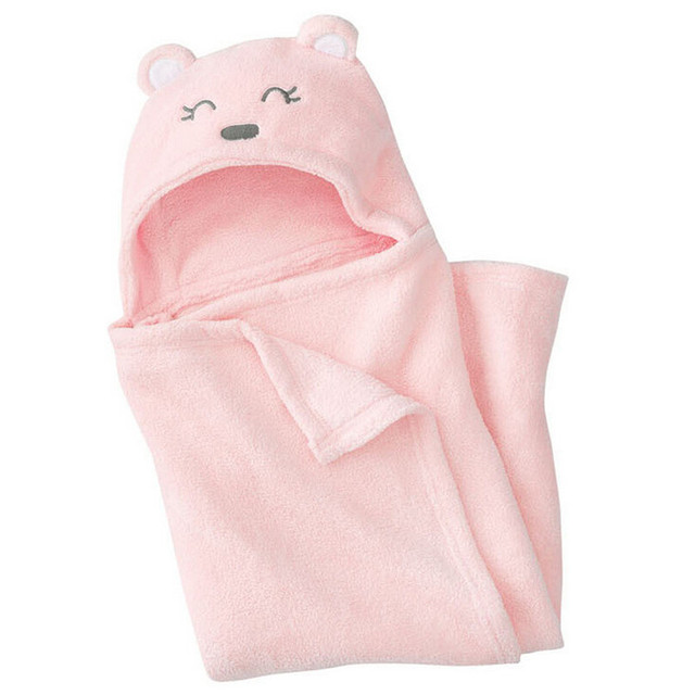 Soft Baby Blankets Baby Kids Bathing Towels Animal Shape Hooded Towel Lovely Baby Bath Towel Baby Swaddle Wrap Hooded Bathrobe