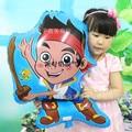 Новый 46*69 см джейк пиратский Капитан Джек фольгированные шары мальчик баллон день рождения детские игрушки globos гелия детский день рождения