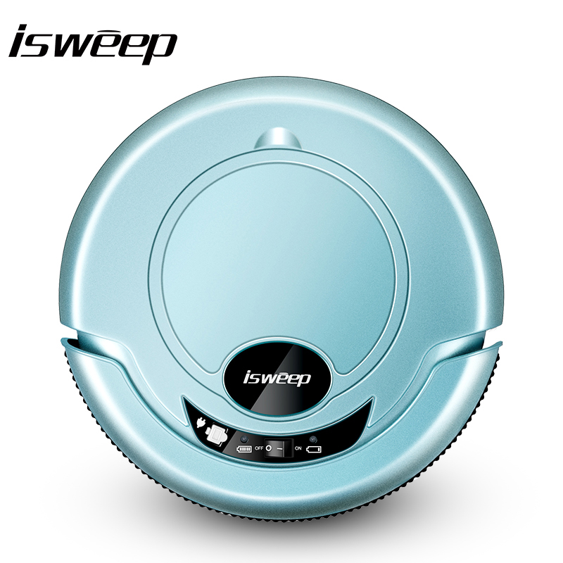 Isweep S320 Vacuum Cleaner Robot for home Dry Wet Mop 2017 New hot sale Anti Collision Anti Fall Intelligent Creative desigh