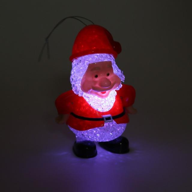 De Halloween LLEVÓ Electrónica Colorido Luz de Papá Noel Niños Emisores de Luz de Juguete Divertido de la Fiesta de Navidad de Cumpleaños de Simulación Juguetes