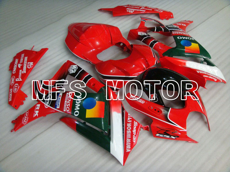 Mold For Suzuki GSXR 1000 K7 2007 2008 Bodywork Injection ABS Fairing Kits GSXR1000 K7 07 08 - JOMO - Red/Black/Green mouse component plastic injection mold cnc machining household appliance mold ome mold